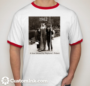 Front of the 50th anniversary t-shirt